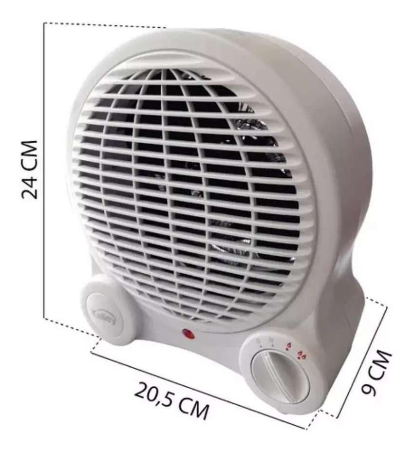 Calentador Calefactor de ambiente Kalley 1500 w Max 0
