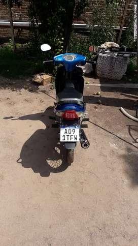 La moto fue comprada en diciembre del 2018