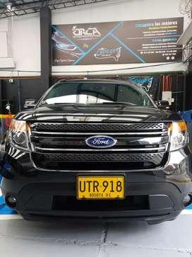 Ford Explorer 2015 Negro gala, 7 pasajeros, muy confort.