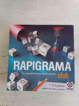 Rapigrama juego de mesa