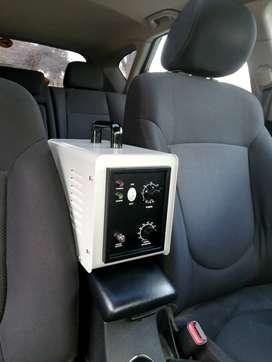 Servicio de Desinfección de Cabina de Autos con OZONO a S/. 50.00 a Domicilio o en nuestro taller.