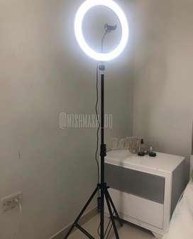 Aro de luz 33cm con tripode 2metros