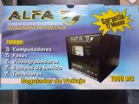 Regulador de Voltage Alfa 3 1000 wts