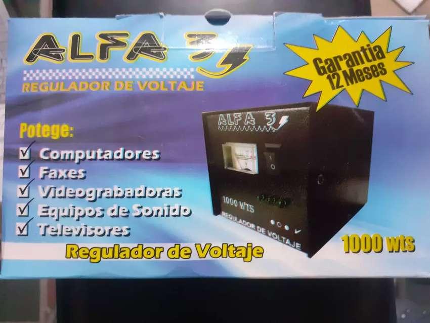 Regulador de Voltage Alfa 3 1000 wts 0