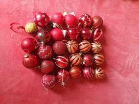 Bolas de navidad pequeñas
