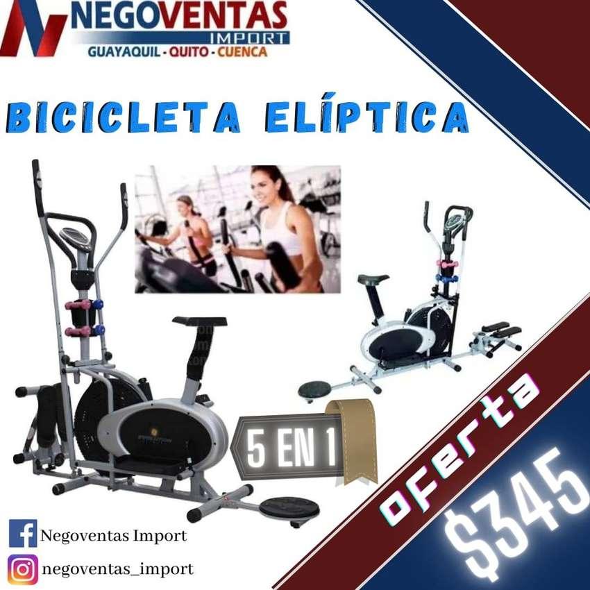 BICICLETA ELIPTICA 5EN1 MULTIFUNCIONAL 0