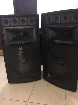 Vendo Cajas de sonido pasivas