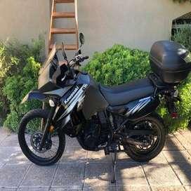 Kawasaki KRL 650 modelo 2012