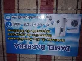 servicio técnico de lavarropas aire acondicionado heladeras cualquier cosa mp o whsatpp