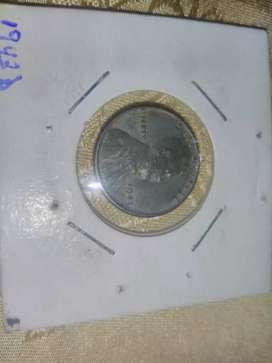 Moneda centavo 1943 D