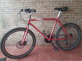 Magnífica bicicleta
