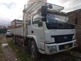 Camión Yuejin Semi nuevo 9 tn 2011