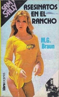 Libro: Asesinatos en el rancho, de M.G. Braun [novela de suspenso]