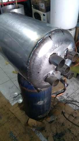 Calentadores en acero inoxidable