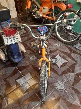 Vendo bicicleta para niño aro 16