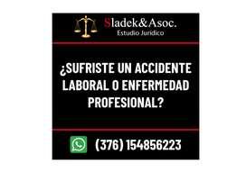 ESTUDIO JURIDICO SLADEK  & ASOC. ESPECIALISTAS EN ACCIDENTES Y ENFERMEDADES LABORALES