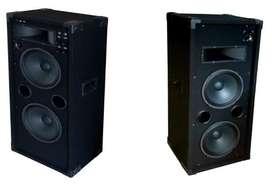 Parlantes  500 W reales, DJ's,fiestas,guit,venta directa fab.