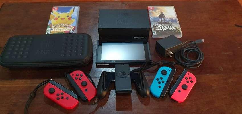 Nintendo Switch Completa 0