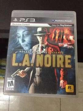 Vendo juego La Noire ps3