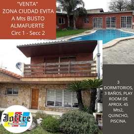 Chalet - Zona Almafuerte, Ciudad Evita