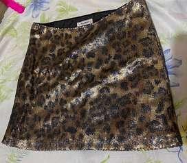 Falda española pull & bear talla 26