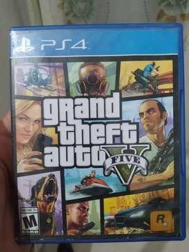 Grand theft auto V PS4 gta v