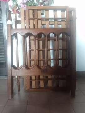 Cunita de Madera. $1.800
