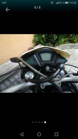 Un solo dueño moto solo movilizarce