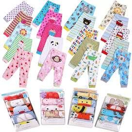 Pantalones de niña y niño de 3 a 24 meses