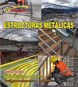 TRABAJOS EN SOLDADURA - SOLDADOR - ESTRUCTURAS: Techos, Puertas, Escaleras, Armarios, Andamios, Cercos, portones