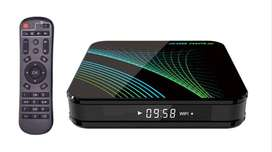Tv Box Tu Tv En Smart X10 Max 4gb /32gb Android 9
