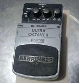 Behringer Ultra Octaver Uv300 Pedal De Efectos