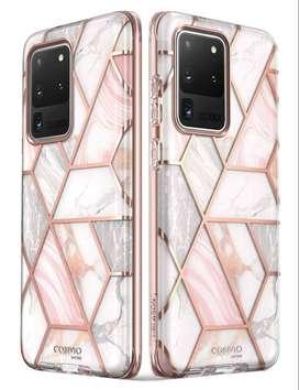 Estuche Goma Fonda Protector Tipo Mármol Colores Xiaomi