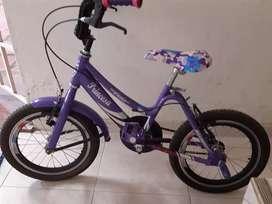 Se vende bicicleta para niña pequeña