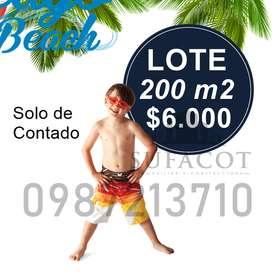 LIQUIDACIÓN DE LOTES, LOTES DE 200M2 A 6.000 USD, SOLO VENTA EN EFECTIVO, PLAYA DE PUERTO CAYO, SD1