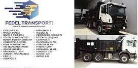 venta de volquete Scania P410