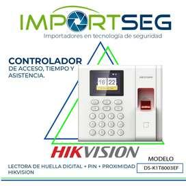 Terminal De Control De Acceso Y Asistencia / Ds-k1t8003ef