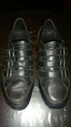 Zapatillas de Cuero Storkman hombre