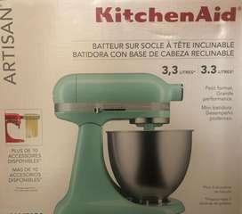 Batidora KitchenAid Azul Nueva !!