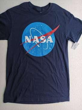 CAMISETA NASA AMERICANA TALLA S