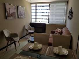 Departamento de alquiler en Puerto Santa Ana, 2 dormitorios, amoblado.