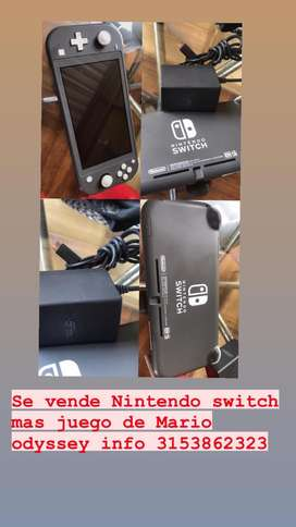 Se vende Nintendo switch lite