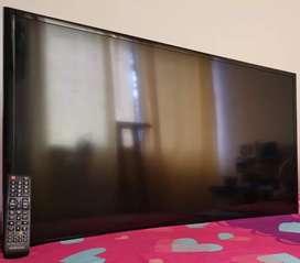 Venta  Tv Samsung 42 en excelente estado con control y caja.
