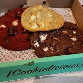 Galletas tipo Cookie Jaar