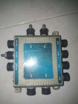 Conctores de antenas y audio