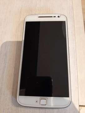 Celular Motorola G4 plus, sensor de huella