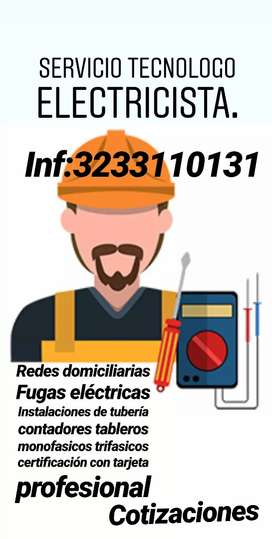 Servicio de tecnologo electricista