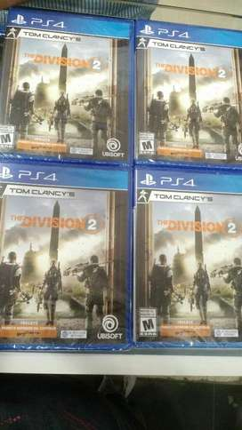 Juego The Division 2 Ps4