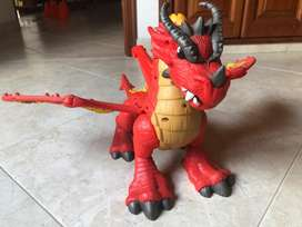 Dragon interactivo fisher price