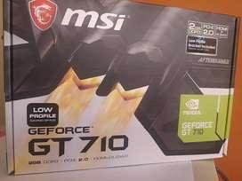 Vendo tarjeta gt 710 nueva